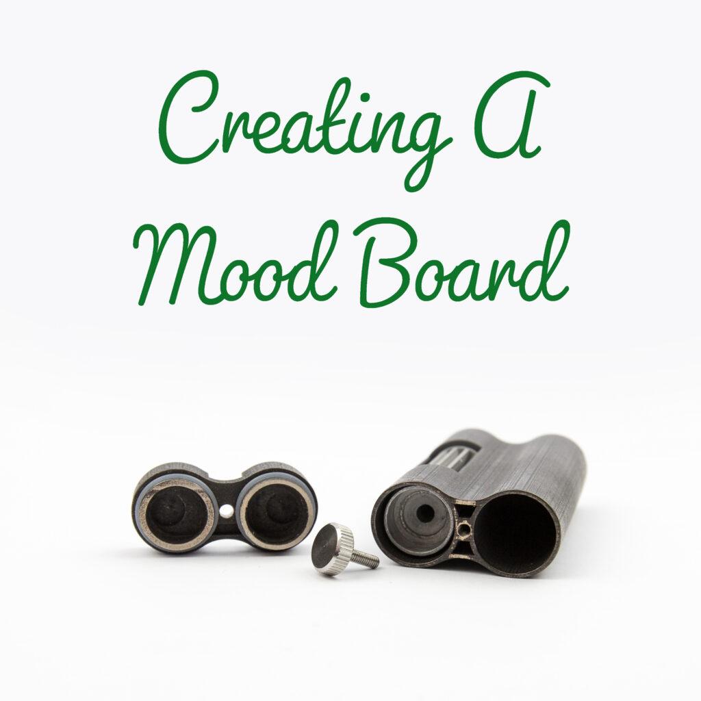 Business mood board