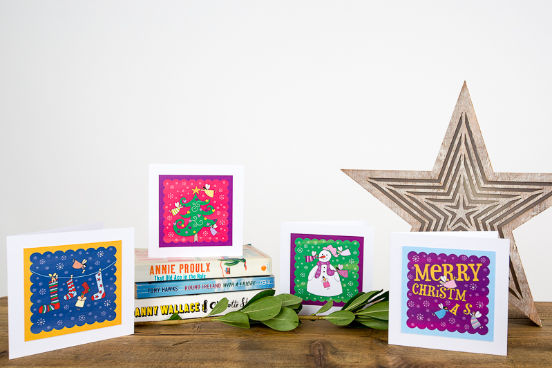 Black Bee Creative Christmas Cards Product Photography